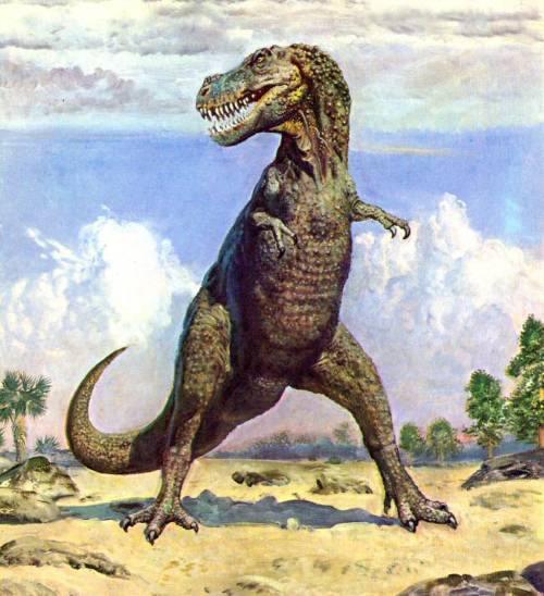 ティラノサウルスの想像図