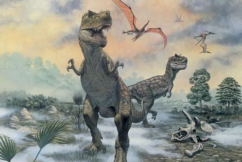オスより大きいティラノサウルスのメス